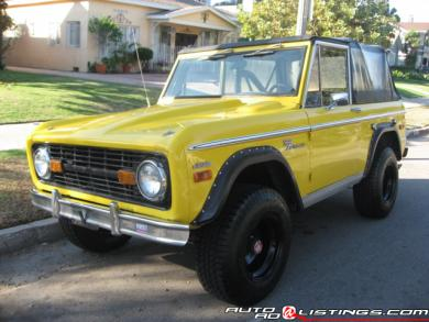 1970 Ford Bronco Other